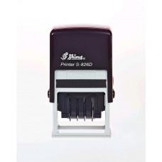 Carimbo Datador Com Texto Automático Shiny S-826D