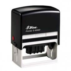 Carimbo Datador Com Texto Automático Shiny S-830D