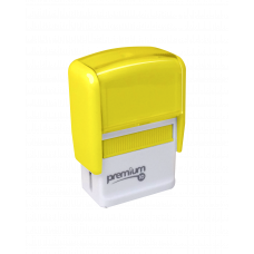 Carimbo Premium 10 Amarelo