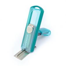 Carimbo Pocket Automatik PS-413 Verde Transparente/Sólido