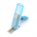 Carimbo Pocket Automatik PS-413 Azul Transparente