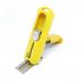 Carimbo Pocket Automatik PS-413 Amarelo